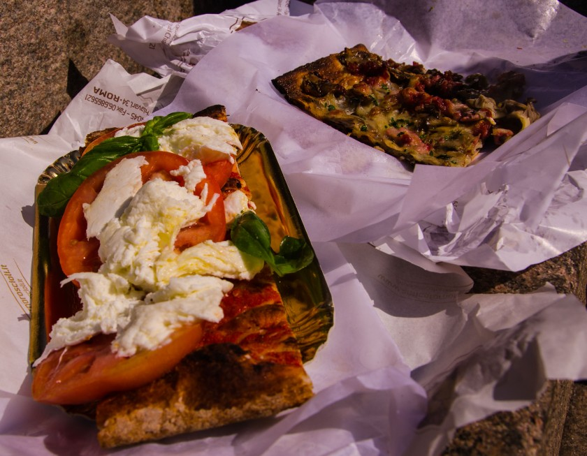 Pizza from Forno Roscioli