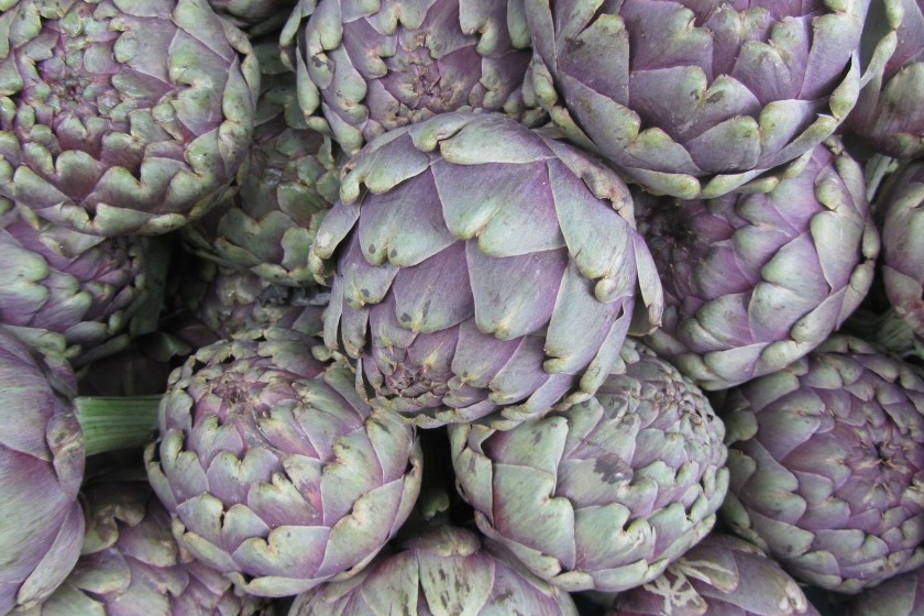 Spring is artichoke season in Rome