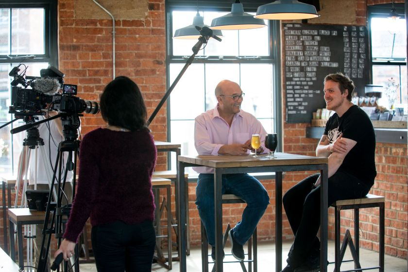 Behind the scenes with Gregg Wallace