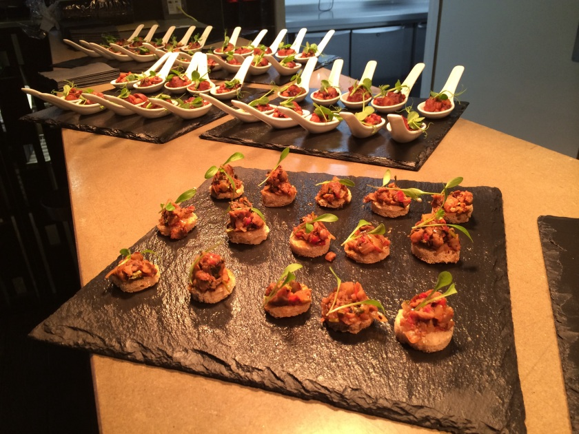 Canapes at Roast+Conch