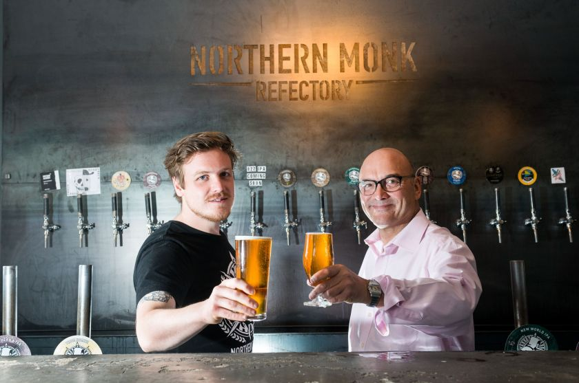 Gregg Wallace at Northern Monk