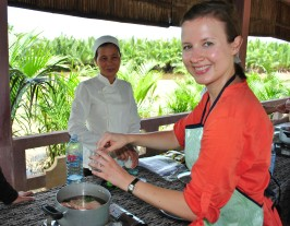 Cookery class in Hoi An