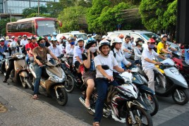 Mopeds in Vietnam