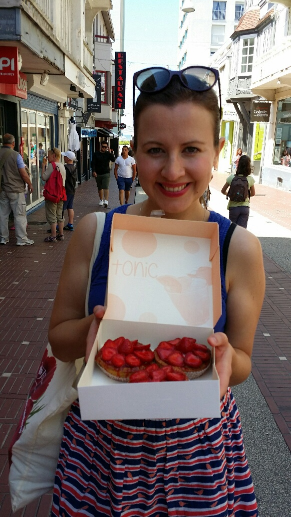 Just bought strawberry tarts