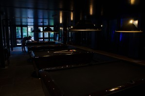 Pool tables at Slate