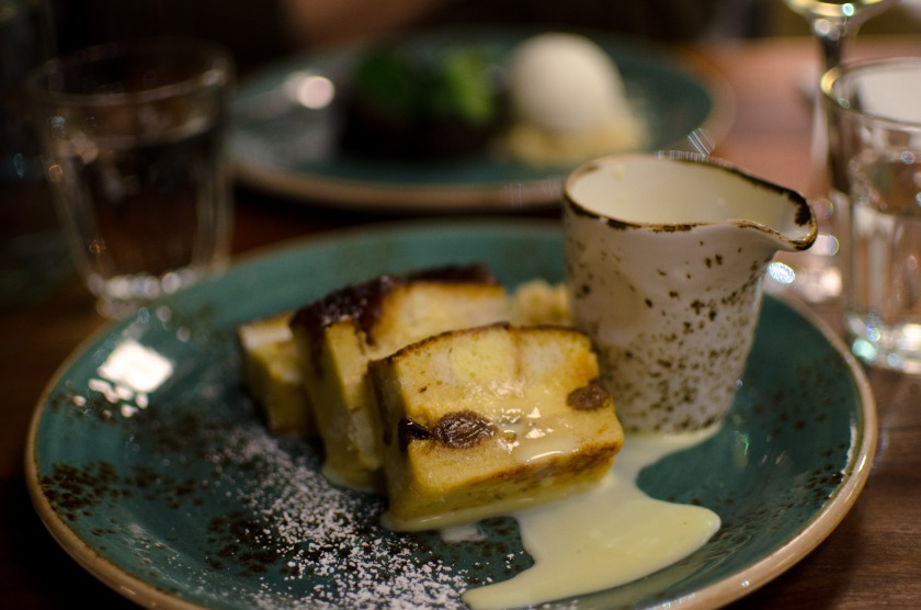 bread and butter pudding the tetley